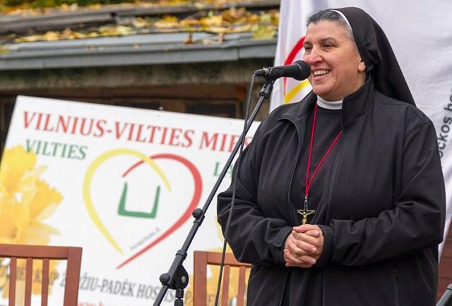 Siostra Michaela Rak apeluje o wsparcie budowy hospicjum dla dzieci Fot. Marian Paluszkiewicz