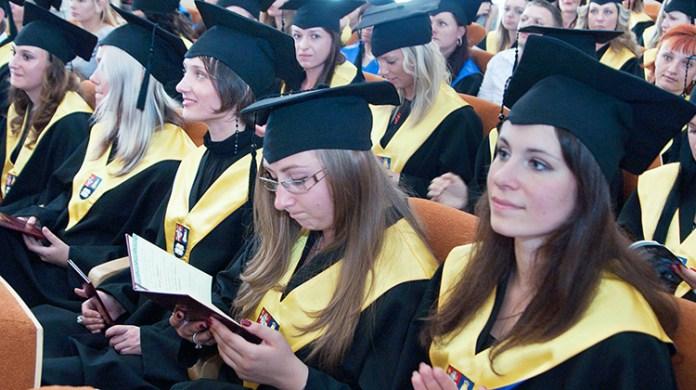 Na wyższych uczelniach Litwy uczy się 126 tysięcy studentów Fot. Marian Paluszkiewicz