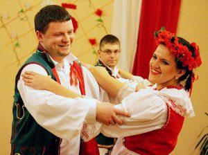 W tańcu para Dorota i Tomasz Bujnowscy         Fot. Elżbieta Bortkiewicz