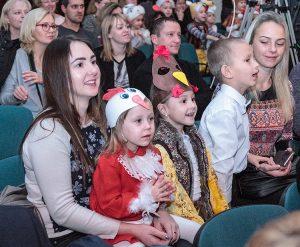 Swym pociechom podczas ich występów towarzyszyli również rodzice Fot. Marian Paluszkiewicz