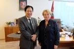 Grzecznościowa Wizyta ambasadora Japonii w samorządzie