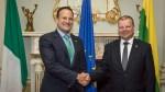 Litwa wspiera stanowisko Irlandii w sprawie Brexitu