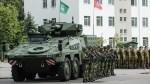 Litewskie Wojsko z nowym uzbrojeniem