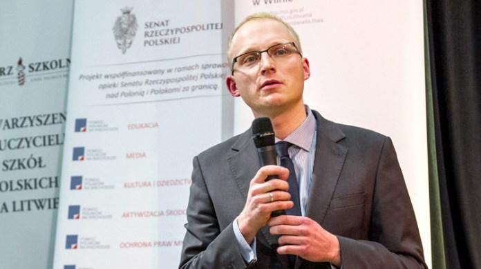 Mikołaj Falkowski: Mam szacunek dla młodych Polaków z Wileńszczyzny, że uczą się historii Polski