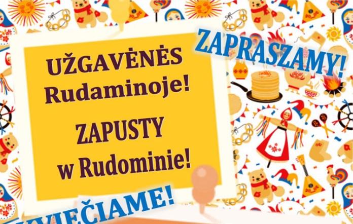 Rudomino zaprasza na tradycyjne Zapusty!