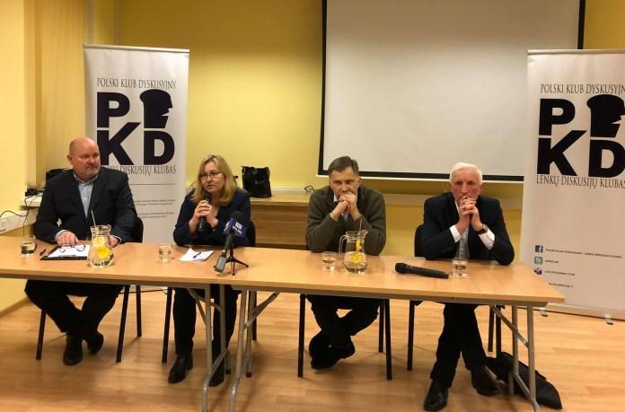 Dyskusja PKD o Polakach  wobec niepodległości Litwy