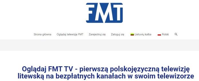 FMT TV chce tworzyć most między Polską a Litwą