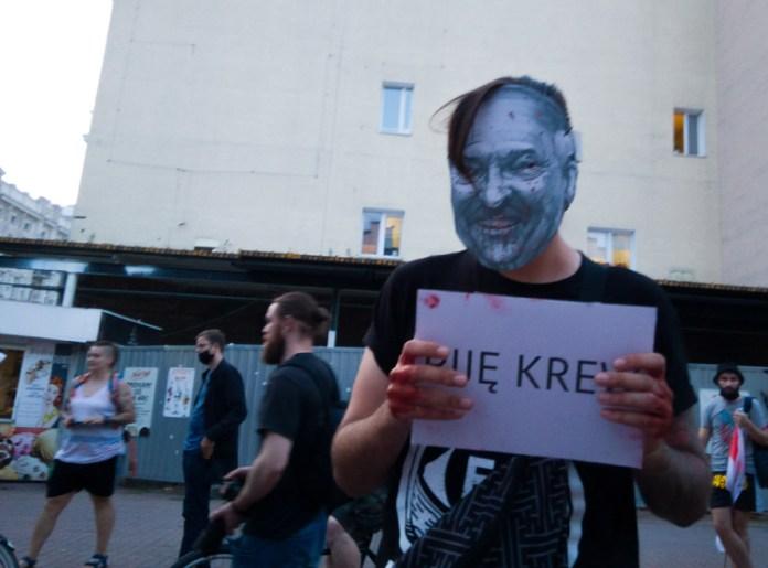 Białorusini w Polsce wychodzą na ulice. Polacy z nimi