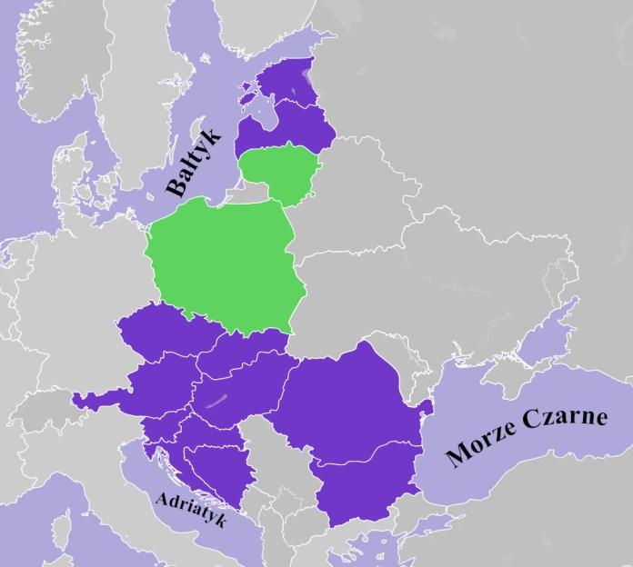 Szczyt Inicjatywy Trójmorza w Tallinie — uczestniczą prezydenci m.in. Litwy i Polski