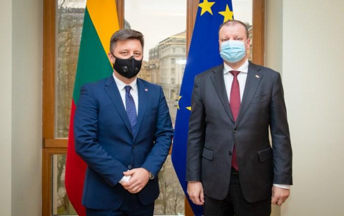 Podziękowania Premiera RP M. Morawieckiego dla litewskiego rządu