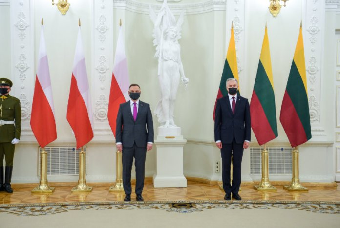 Powstała Rada Prezydentów Polski i Litwy — Duda i Nausėda podpisali deklarację