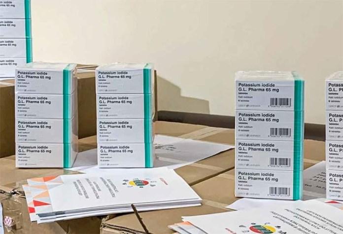 Mieszkańcy mogą odebrać tabletki jodku potasu w urzędach gmin