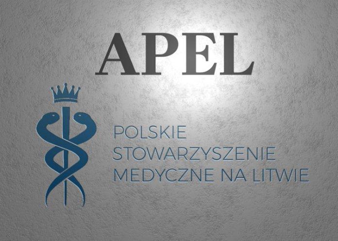 Apel polskich medyków na Litwie