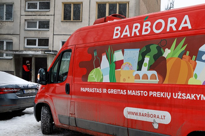 Litewski sklep internetowy Barbora – przez Warszawę na polski rynek
