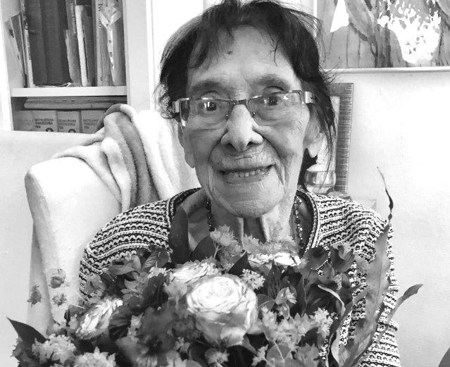 Zmarła narzeczona Łupaszki, Lidia Lwow-Eberle. Miała 100 lat