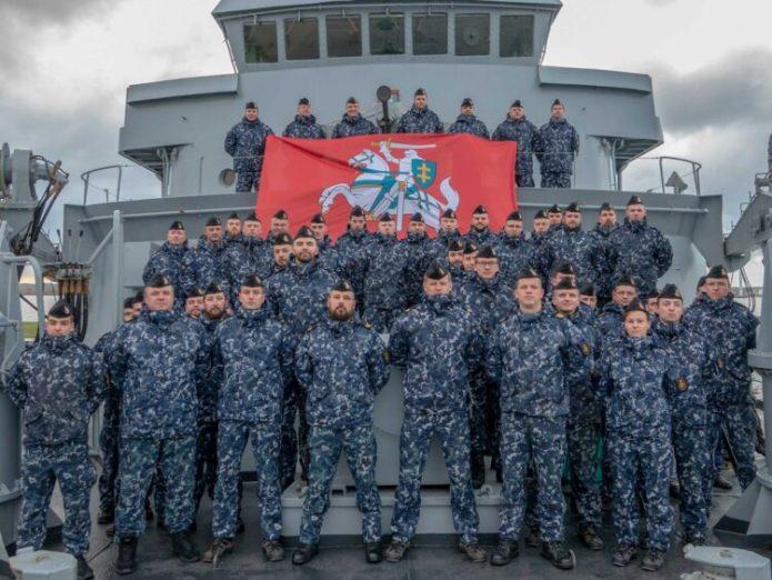 Litwa przekazała Holandii dowództwo nad okrętami NATO