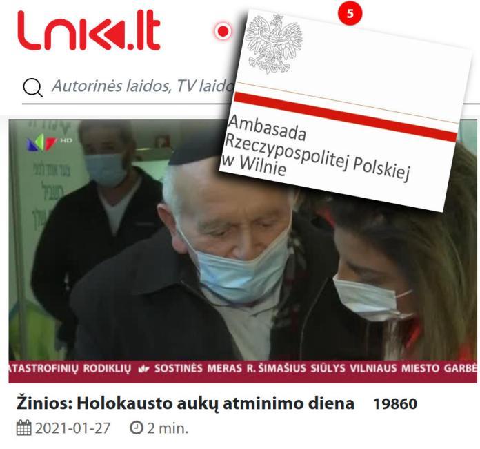 """W telewizji LNK """"polski obóz koncentracyjny w Auschwitz"""". Ambasada prosi o sprostowanie"""