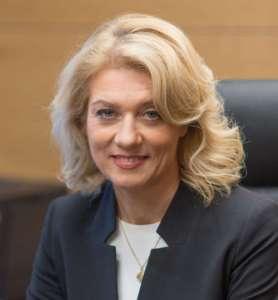 Portret Sonaty Jarmalaitė, tymczasowej dyrektorki Narodowego Instytutu Raka na Litwie.