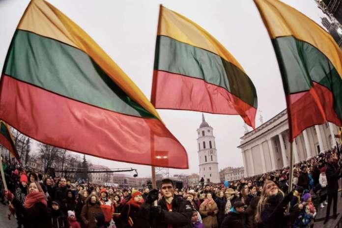 Zeszłoroczne obchody Dnia Niepodległości Litwy w Wilnie.