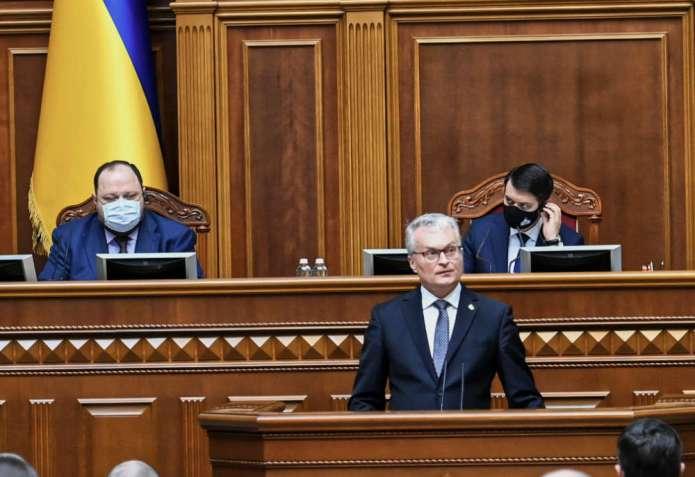 Nausėda: Sankcje wobec Rosji muszą trwać, póki nie opuści terytorium Ukrainy