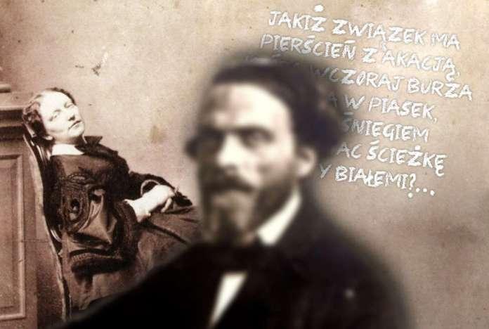 Cyprian Kamil Norwid i Maria Kalergis na jednym obrazku.