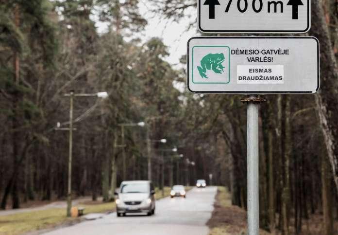 Od 20 marca ograniczony ruch wokół parku na Zakrecie — dla dobra żab