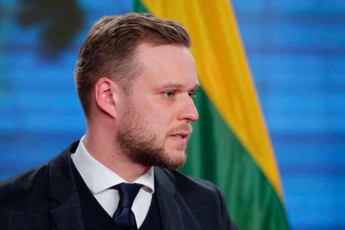"""Landsbergis o Ukrainie: """"Litwa przyjaciół i partnerów w nieszczęściu nie zostawia"""""""