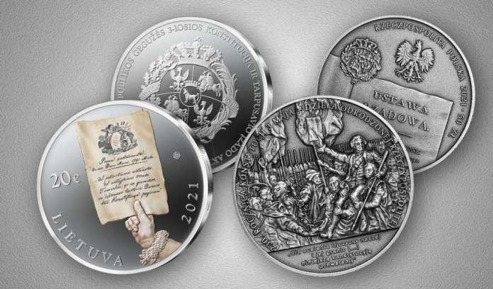 LB i NBP wypuszczą specjalne monety — upamiętnienie Konstytucji 3 maja