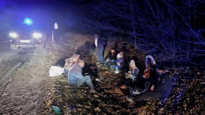 W rejonie solecznickim i w okolicach Kowna zatrzymano nielegalnych imigrantów