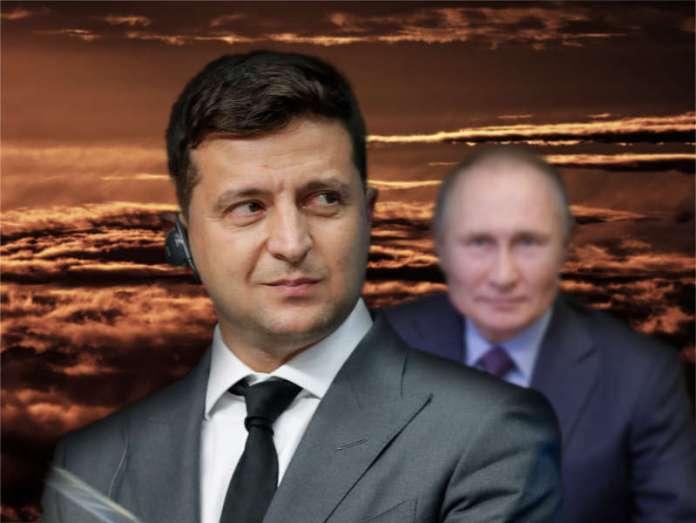 Kijów szykuje się na uderzenie. Przy granicy wojska, Rosja uspokaja