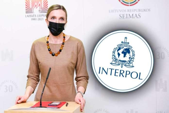 Litwa zwraca się do Interpolu w sprawie przymusowego posadzenia samolotu
