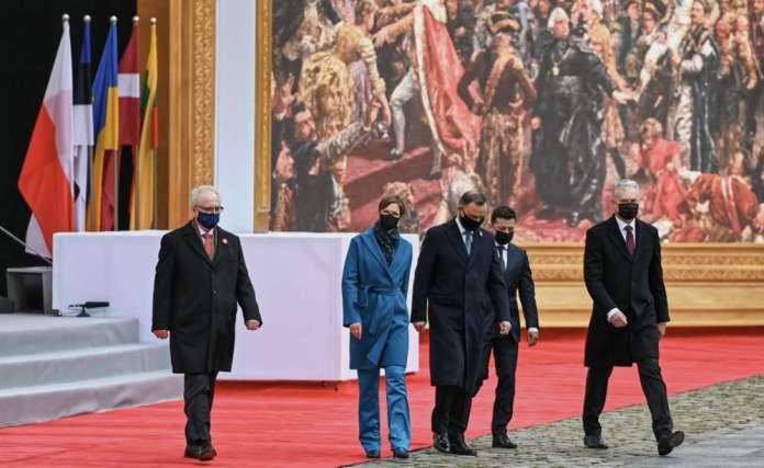 """Nausėda: """" sytuacja na Ukrainie przypomina wydarzenia z końca XVIII wieku"""""""