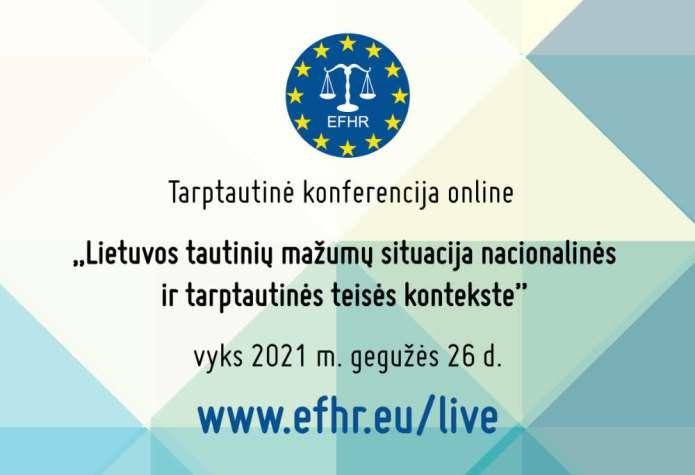 Jutro konferencja EFHR o mniejszościach, oglądać prelekcje może każdy