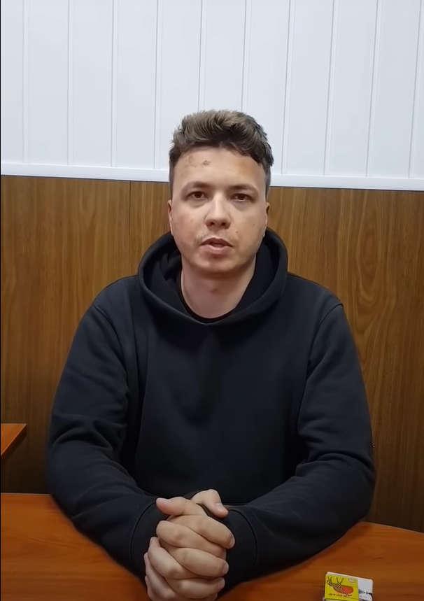 """Wiceminister Adomėnas o pobitym Pratasiewiczu: """"reżim widocznie zdesperowany, paranoja"""""""