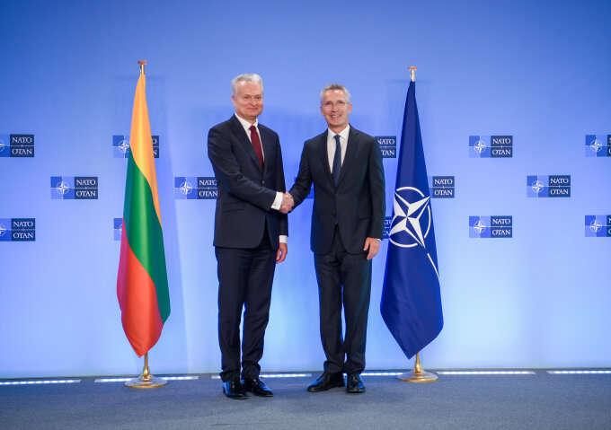 Nausėda na szczycie NATO w Brukseli. Pierwszy udział prezydenta USA Joe Bidena