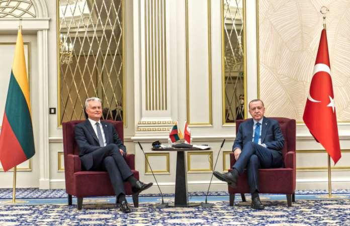 Spotkanie Nausėdy z Erdoğanem. Wśród tematów bezpieczeństwo Morza Czarnego i Bałtyckiego