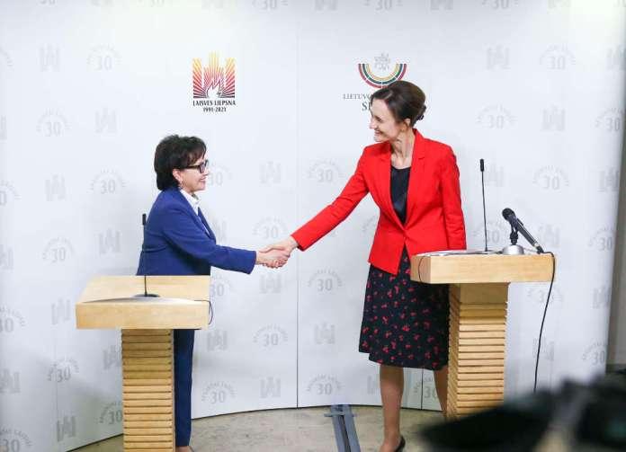 Marszałek Sejmu RP Elżbieta Witek z dwudniową wizytą na Litwie