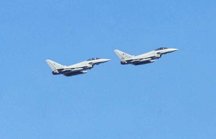 Samoloty NATO startowały do rozpoznania rosyjskich odrzutowców