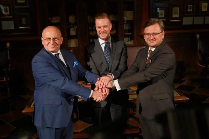 Szefowie dyplomacji Polski, Litwy i Ukrainy podpisali plan działań Trójkąta Lubelskiego
