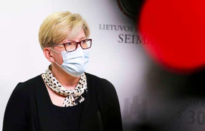 Premier Šimonytė z pierwszą wizytą w Estonii