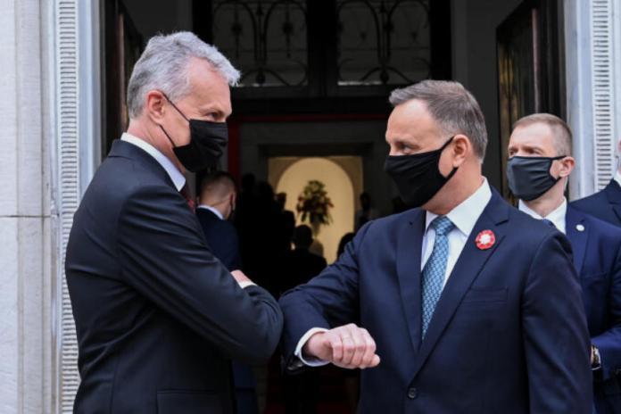 Wizyta Nausėdy wraz z małżonką w Polsce z okazji 500-lecia zawieszenia dzwonu Zygmunt