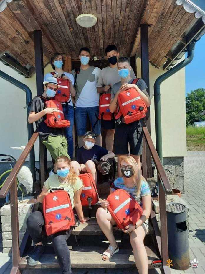 Harcerze przeprowadzili szkolenia sanitariuszy obozowych