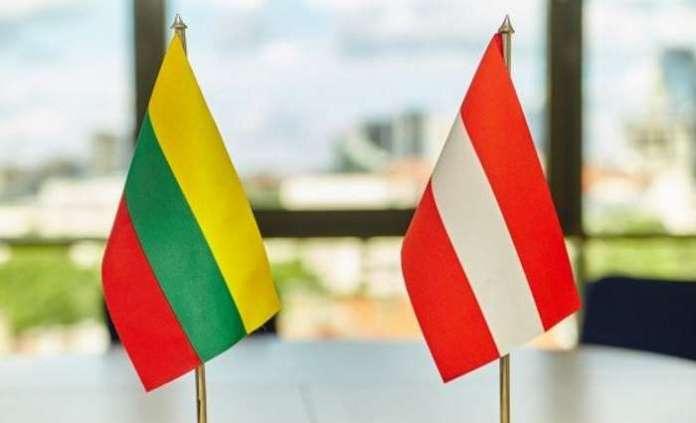 Austriaccy ministrowie z wizytą na Litwie