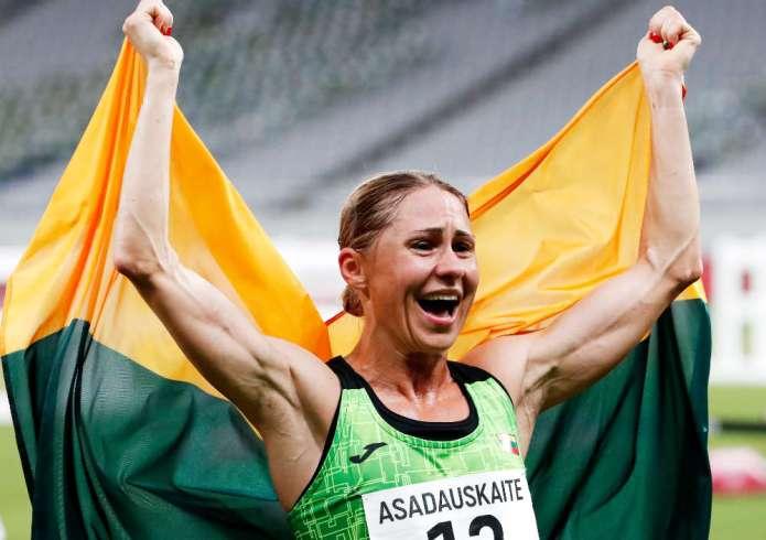 Pierwszy medal Litwy. Pięcioboistka Asadauskaitė zdobyła srebro