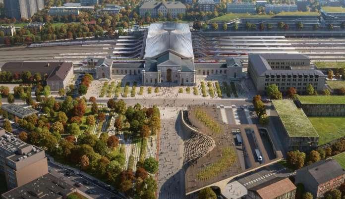 Wileński dworzec dworcem przyszłości? Aż 33 wizje nowego ładu