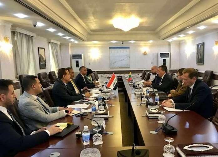 Litwa zaprasza do kraju irackich pograniczników oraz konsula. Do pomocy z migracją
