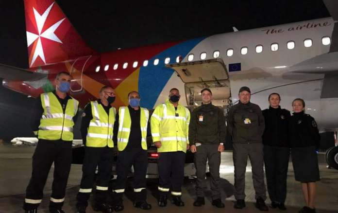 Litwa otrzymała pomoc humanitarną od Cypru i Malty