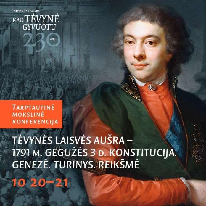 """Konferencja """"»Świt wolności ojczyzny«— Konstytucja 3 Maja 1791 r."""""""