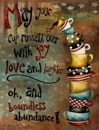 Sending you boundless abundance!