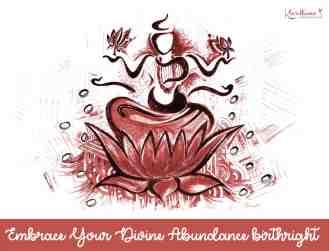 Lakshmi: Hindu Goddess of Wealth, Fortune & Prosperity.